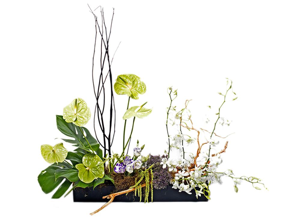 Arreglo floral jard n de anturios liverpool es parte de mi for Jardines de anturios