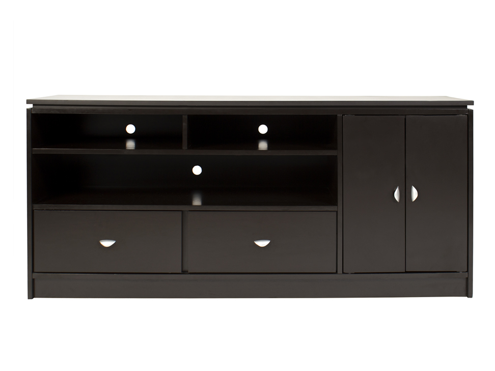 Mueble para tv chocolate contempor neo liverpool es parte for Muebles para tv contemporaneos